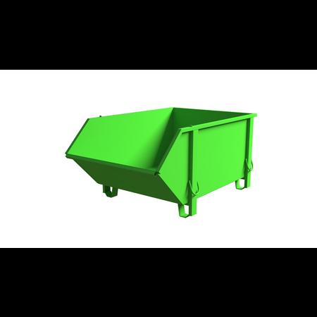 SalesBridges Bouwcontainer Verzinkt Puincontainer Bouwafval AfvalcontaineBouwcontainer Thermisch Verzinkt Puincontainer Bouwafval Afvalcontainer Bouw 1000L 1500 kgr Bouw 1000L 1500 kg - Copy