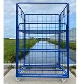 SalesBridges Maxi Roll conteneur 4 côtés peint 1200x800 cm en acier Ergonomique