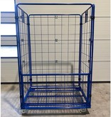 SalesBridges Maxi Steel Roll Container with 4 sides with powdercoating demountable (H) 1800 mm