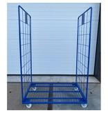 SalesBridges Maxi Roll conteneur en acier 2 côtés peint 1200x800 cm