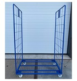 SalesBridges Maxi Steel Roll Container with 2 sides with powdercoating demountable (H) 1800 mm
