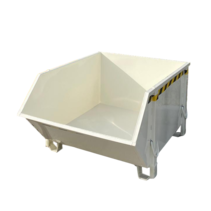 Construction container White Debris Container Waste container for Construction 1000L 1500 kg  - Copy