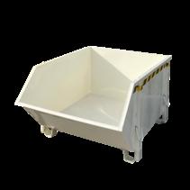 Conteneur de construction Blanc Conteneur de débris Déchets de construction Conteneur de déchets Construction 1000L 1500 kg  - Copy