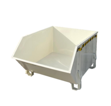 Bouwcontainer Puincontainer Wit Bouwafval Afvalcontainer Bouw 1000L 1500 kg - Copy