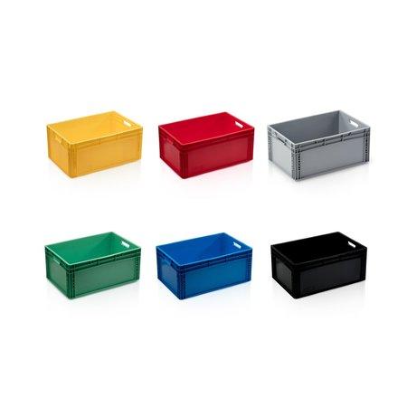 SalesBridges Eurokrat Universeel  60x40x27 blauw Euronorm Bakken Eurobox KLT box