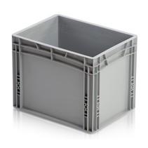 Eurobox Universal 40x30x32 cm plastic stackable container  - Closed