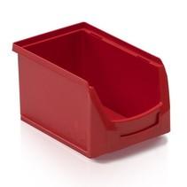 Magazijnbak Kunststof B PP 23x15x12.5cm  Rood