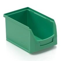 Bac à bec en plastique pour magasin PP B 23x15x12.cm Vert