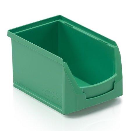 SalesBridges Magazijnbak Kunststof Grijpbakken B PP 23x15x12.5cm Groen