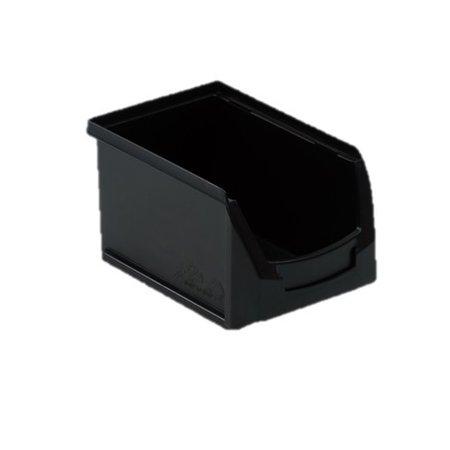 SalesBridges Magazijnbak Kunststof Grijpbakken B PP 23x15x12.5cm Zwart