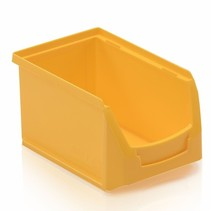 Magazijnbak Kunststof B PP 23x15x12.5cm Geel