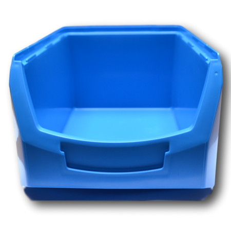 SalesBridges Magazijnbak Kunststof C PP 35x21.3x15cm Rood Plastic Gripbakken