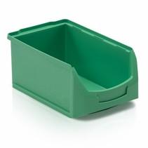 Bac à bec en plastique pour magasin PP C  35x21x15cm Vert