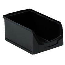 Bac à bec en plastique pour magasin PP C  35x21x15cm Noir