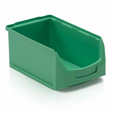 SalesBridges Bac à bec en plastique pour magasin PP C  35x21x15cm Noir