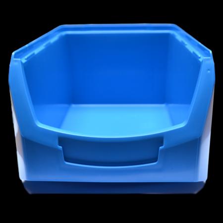 SalesBridges Magazijnbak Kunststof C PP 35x21.3x15cm Geel Plastic Gripbakken