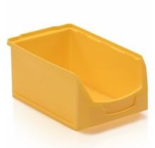 Bac à bec en plastique pour magasin PP C  35x21x15cm Jaune