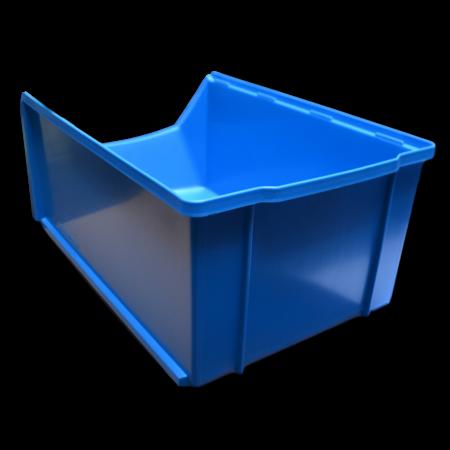SalesBridges Magazijnbak Kunststof D PP 51x31x20cm  Rood Plastic Grijpbakken