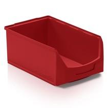 Storage bin Plastic D PP 51x31x20cm  Red