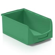 Magazijnbak Kunststof D PP 51x31x20cm  Groen