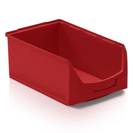 SalesBridges Bac à bec en plastique pour magasin PP A  51x31x20cm Jaune
