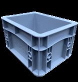 SalesBridges Plastic Kratten 20x15x12 cm geen handvaten Stapelbak Eurobox