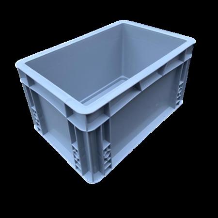 SalesBridges Plastic Kratten 30x20x17 cm geen handvaten Stapelbak Eurobox