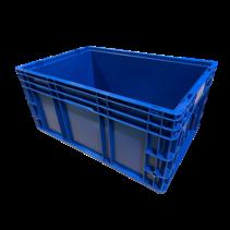 R-KLT Bac de rangement 60x40x28 Bleu Fond de grille renforcé