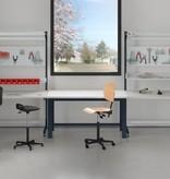 SalesBridges Ergonomische werktafel ECOLOG model 150 kg Industrieel blauw