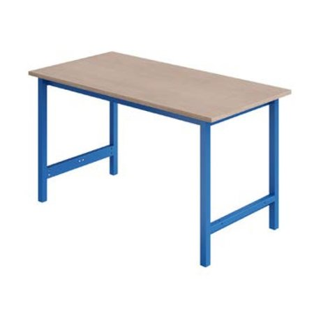 SalesBridges Ergonomic worktable TPL-model 250 kg Anthracite