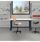 SalesBridges Ergonomic worktable 250 kg TPL-model Industrial blue