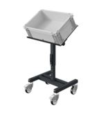 SalesBridges Chariot d'atelier SRI Chariot de rangement réglable pour bacs en plastique