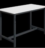 SalesBridges Ergonomic worktable PTH-model adjustable in height 300 kg Anthracite