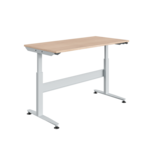 SalesBridges Table de travail Ergonomique Réglable électriquement modèle REGULOG 140 kg Gris clair