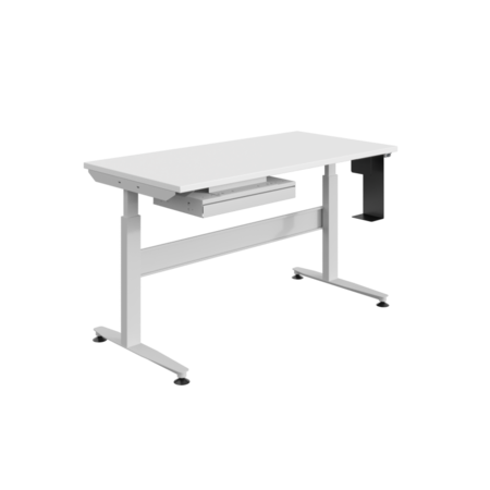 SalesBridges Ergonomische werktafel Elektrisch verstelbaar REGULOG-model 140 kg Lichtgrijs