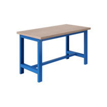 Ergonomische werktafel SI-model 1500 kg Industrieel Blauw