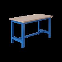 Table de travail Ergonomique modèle SI 1500 kg Bleu Industriel