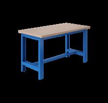 Ergonomische werktafel SI-model industrieel blauw 1500Kg Heavy Duty