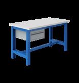 SalesBridges Table de travail Ergonomique modèle SI blue industriel  1500Kg Heavy Duty