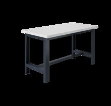 Ergonomische werktafel SI-model grijs antraciet  1500 kg heavy duty