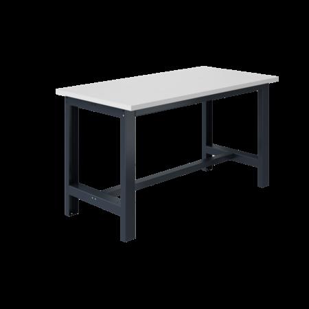 SalesBridges Table de travail Ergonomique modèle SI gris anthracite 1500 kg heavy duty