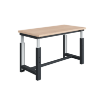 Electrically adjustable worktable 300 kg Anthracite SI-model
