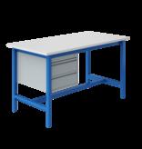 SalesBridges Table de travail Ergonomique modèle PTH 500 kg Bleu l'industriel