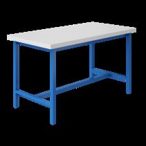 Ergonomische werktafel 500 kg Industrieel Blauw PTH-model
