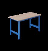 SalesBridges Ergonomische werktafel  250 kg TPL-model Industrieel blauw