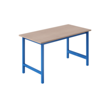 Ergonomic worktable 250 kg TPL-model Industrial blue