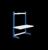 SalesBridges Table de travail Ergonomique modèle ECOLOG 150 kg Bleu industrie