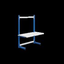 Ergonomic worktable ECOLOG model 150 kg Industrial blue