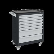 Chariot d'atelier SERVILOG avec tiroirs Gris anthracite