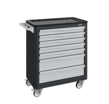 Workshop Trolley SERVILOG with drawers Gray Anthracite